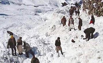 Response to Snow Avalanche Events in Chitral Khyber Pakhtunkhwa