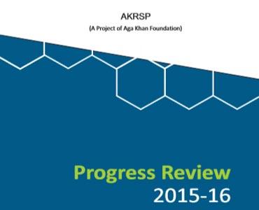AKRSP AR 2015-16